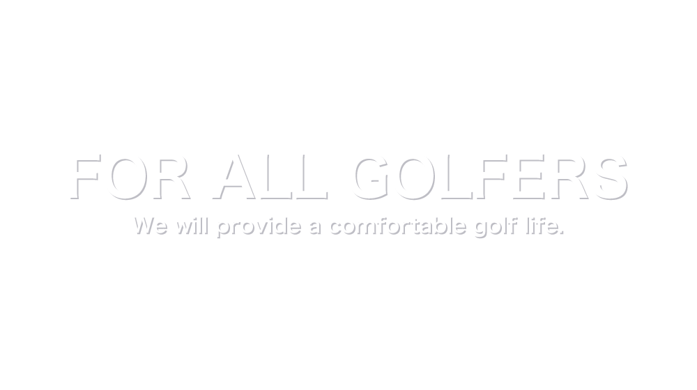 FOR ALL GOLFERS - it will provide a comfortable golf life.