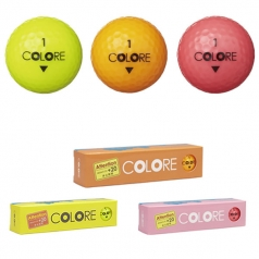 "MEGAFUTE COLORE BALL 12P MGF+7401の商品画像 非公認"" 飛び"" ボールにカラーボール誕生!"