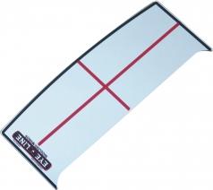 ショルダーミラー スモール ELG-SS16の商品画像 ハッキリと肩線を確認(パッティングミラースモール用)