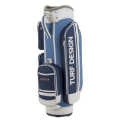 Caddie Bag TDCB-1670の商品画像 シンプルな色使いとポケットのデザインが魅力的なキャディバッグ。
