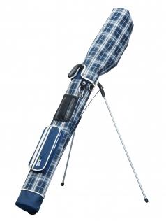 Mini Stand Bag  TDMS-1770の商品画像 ショルダーベルトも付いて持ち運びが便利になりました。<br /> 本体にはカラビナやベルクロも付属されています。<br /> 大型のポケットとメッシュポケットも付いており小物などの収納力も抜群です。