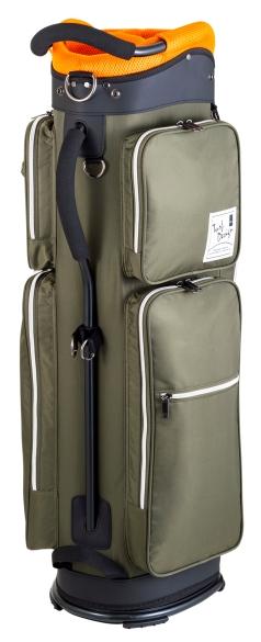 Caddie Bag TDCB-1771の商品画像 飛行隊が着用しているフライトジャケットをイメージした軽量カートバッグ。