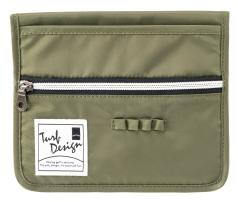 Cart PocketⅡ  カートポケット  TDCP-1770の商品画像 カートの手すりに装着するポケット。<br /> スコアカードや携帯などがいつでも取りやすくなります。