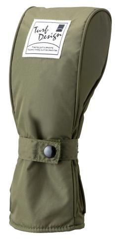Head Cover  ヘッドカバー TDHC-1772Fの商品画像 デザイン性のある型。<br /> スムーズに開閉の出来るベルトのフェアウェイ用ヘッドカバー。
