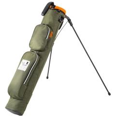 Mini Stand Bag ミニスタンドバッグ TDMS-1772の商品画像 パターを切り分けた口枠のミニスタンド。ポケットも収納力抜群で便利。