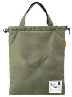 Shoes Bag シューズバッグ TDSB-1772の商品画像 使い勝手の良い袋型シューズケース。<br /> 裏面にはポケットがあり、小物の収納にも便利。