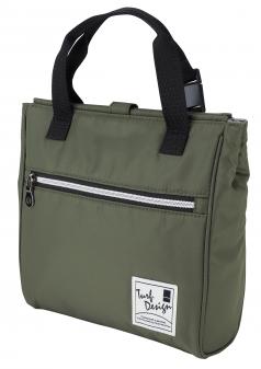 Cooler Bagの商品画像 カートにかけることのできる保冷バッグ。開閉もマグネット式でスムーズ。