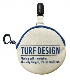 Ball cleaner &  putter catcher   TDBP-1870の商品画像 携帯に便利なポケットサイズのボール<br /> 拭きにパターキャッチャーの機能を。<br /> 2wayで使えて便利。