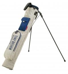 Mini Stand Bag ミニスタンドバッグ TDMS-1870の商品画像 パター専用の口枠付ミニスタンド。<br /> ポケットも収納力抜群で使いやすい。