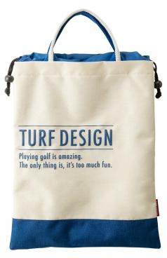 Shoes Bag シューズバッグ TDSB-1870の商品画像 使い勝手の良い袋型のシューズケース。<br /> 裏面にはポケットがあり小物収納にも便利。
